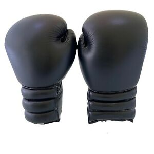 New Boxing Gloves with Laces For Sparring Bag Work MEN Women 100% Real Leather