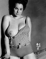 8x10 Print Sexy Model Pin UP Busty Sensation Janey Reynolds Nudes #MJR82