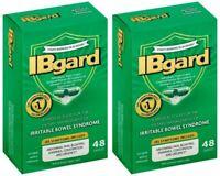 2 Pack IBgard Management Irritable Bowel Syndrome 48x2 Capsules Exp 2021 SEALED