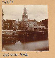DELFT c. 1900 - Oude Kerk  Pays Bas - FD Hol 131