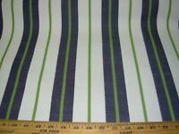6 YDS STRIPES  INDOOR OUTDOOR  MULTI PURPOSE UPHOLSTERY FABRIC FOR LESS