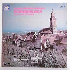 33T MUSIQUE FOLKLORIQUE ALSACIENNE Vol 3 Vinyle LP SCHNOKELOCH Folk VEGA 16283