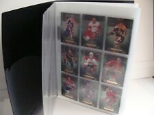 2011-12 Parkhurst Champions Complete set 160 cards in Presentation Binder.