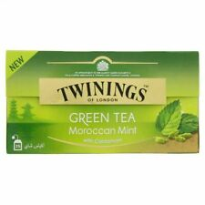 Twining's of London Moroccan Mint with Cardamom Green Tea 25 Tea Bags