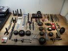 Lot of Vintage RC Model Airplane Plane Parts, lots of tires, take a look!