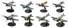Lot de 8 Avions RAF et US Air Force WW2 1/72 militaire diecast DeAgostini