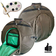 Handpan backpack ST-H03 Custom your size rigid padding with pocket bag case
