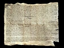 OLD HANDWRITTEN DOCUMENT 1683