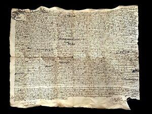 OLD HANDWRITTEN DOCUMENT 1683