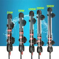 Submersible Aquarium eco Chauffage 25W/50W/100W/200W/300W Fish Tank Thermostat