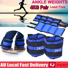 4kg 2x2kg Ankle Weights Sport Gym Weight Fitness Running Training Leg Sandbag