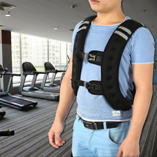 10kg Weighted Weight Vest Adjustable Size Crossfit MMA Strength Training Running