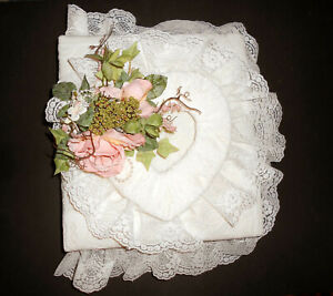 Handcrafted Heirloom Photo Album - Wedding, Baby Shower, Graduation, Anniversary