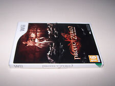PROJECT ZERO 2 - Nintendo WII - UK PAL -  NEW & FACTORY SEALED - EXC COND