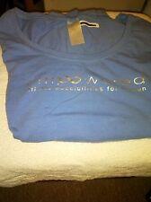 AVON Empowered Women Domestic Violence T-Shirt Size XL (Purple/Midnight Blue)