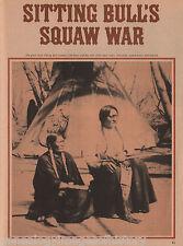 Sitting Bull's Squaw War Among Light Hair & Snow-on-her+Black Moon,Lehman