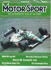 Motor Sport Magazine - October 1986
