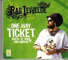 (DG934) Ras Tewelde, One-Way Ticket - 2011 sealed CD