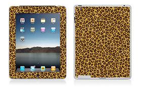 iPad 2 or 3 - Leopard Fur Pattern - Vinyl Skin Sticker Cover