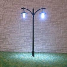 20 pcs HO scale Lamppost LEDs made Long life street light Not Hot No Melt #L511