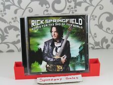 #88- Songs for the End of the World - Audio CD By Rick Springfield - MINT