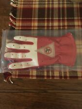 Vintage St Louis Cardinals Logo Youth Right Hand Baseball Batting Glove Red