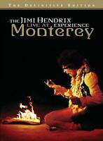 New: JIMI HENDRIX - Live At Monterey (Hendrix's Historic U.S. Debut' Performance