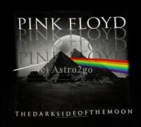 PINK FLOYD PYRAMID SPECTRUM--Liquid Blue Dark Side of the Moon T shirt S-6XL