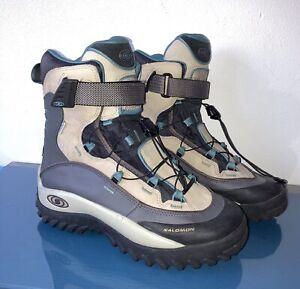 SALOMON CLIMA DRY Hiking Trail Boots Size UK 6.5