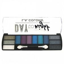 L.A. Colors Makeup Long Lasting Day to Night Eyeshadow Palette CES432 After Dark