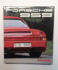 Porsche 959 (production racing road test) Buch book libro livre Automobilia