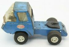 """Vintage 1960's 70's Blue Metal Tonka Tow Truck Toy Car 7.5"""" Long"""