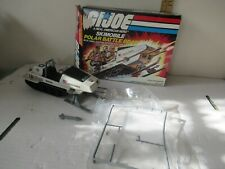 G I Joe ARAH vintage Skimobile Polar Battle Bear 1983 with box