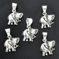 Wholesale Offer 11.68gms Indonesian Bali Style Elephant Lot Of 5 Pendant T6316