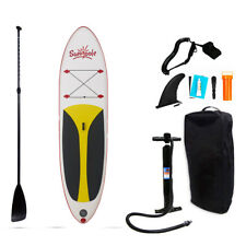 Tuomico 10 FT Inflatable Stand Up Paddle Board (SUP) W/ Accessories