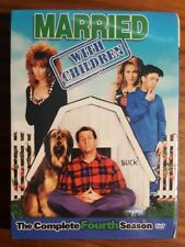 MARRIED WITH CHILDREN SEASON 4 (DVD,2005, Original Thicker Packaging) NEW