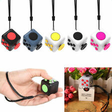 Magic Fidget Toy Cube Anxiety Stress Relief Desk Relief 6 Sided For Adults Kids