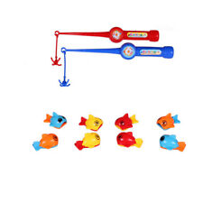 1 Set Bath Toy Fishing Game Durable Funny Baby Toys Fishing Bath Toys for Kids