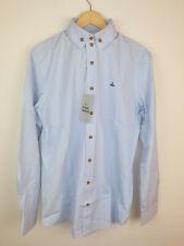 Vivienne Westwood Mens Shirt Blue Size 52 UK XL
