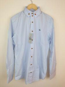 Vivienne Westwood mens shirt Round collar ,size 52 XL RRP £195