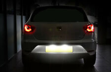SEAT LEON / IBIZA WHITE LED LICENCE NUMBER PLATE LIGHT UPGRADE Bulbs NO-ERROR FR