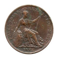 More details for km# 677 - farthing - george iv - great britain 1822 'd over d' in def (vf)