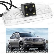 4 LED Car Rear View Camera Reverse Backup CCD for Subaru Outback 2015-2016
