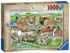 NEW Ravensburger 1000 Piece Rural Retreat English Village Countryside Puzzle