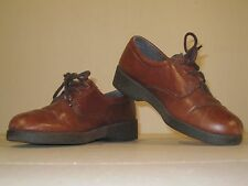 Soft Spot Comfort Shoes - Size 6 - Brown - Preworn
