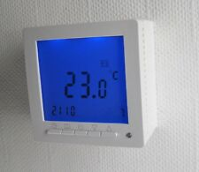 Room Thermostat Surface Mount for Floor/Wall/deckenheizung 16A Weekly Program