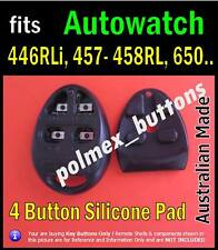 fits Autowatch 446RL, 457RL, 650 car immobiliser remote- 4 Button Repair key Pad