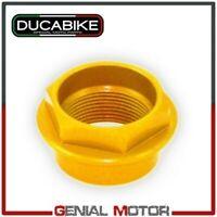 Tuerca la rueda delantera Ergal CNC Oro Ducabike Ducati DIAVEL 2011 > 2019