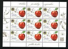 Fi 4539 ** Full sheet - POLAND 2014  - Polish regional products - apple