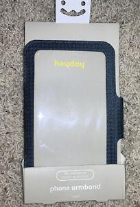 Heyday Biking Running Phone Armband - Universal fits Smartphones up to 5.8'' in